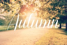 Autumn! My Favourite time of year!