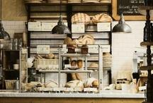 beautiful bakeries / the beauty of the bakery usually reflects the beauty of the treats / by Karen Morgan of Blackbird Bakery Gluten-Free