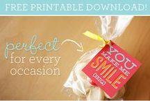 Pretty Printables / A collection of free printables available on the interwebs!