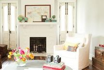 Living Room Inspiration / Favourite decor ideas for the living room and social spaces
