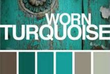 Turquoise -Gotta <3 it! / There's something country about turquoise.