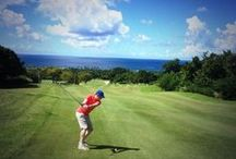 Fore! / Our Robert Trent Jones II Championship Golf Course is a gem of the Caribbean.  See everything from views from the course, to what to wear on the greens. / by Four Seasons Resort Nevis, West Indies