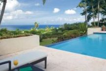 Villa View / Palm Grove Villas, Sunset Hill Estates, Mahogany Hill Estates, and Belmont Estates are the neighborhoods that make up our Villa Community.  Check out these luxury villa accommodations.  / by Four Seasons Resort Nevis, West Indies