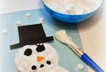 Winter Fun & Learning / During the seemingly long winter I often need some good ideas for indoor activities to help with cabin fever and tips for making snow days fun. This is where I pin all the brilliant winter activities I find for quick reference on those snowy days when the kids and I are going stir crazy!