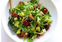 Salads + Veggies.