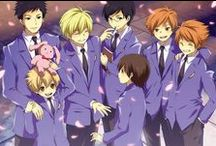 Ouran High School Host Club / The best anime ever! It's awkward, yes, but brings joy to my heart. Nearly everything about it gives me chills. Bisco Hatori has an incredible mind to come up with something like this. The characters and story line draw me in so fiercely! I never want to leave my tv.  / by Jenni (Squorkal)