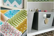 O R G A N I Z E: projects. / Organizing small and large spaces.