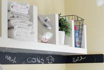 O R G A N I Z E: laundry.