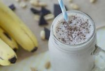 """Smoothies, Shakes + Sips / Whether you're looking for a quick, nutritious way to start the day or a warm drink to """"sip"""" back and relax with, you can use quality USA peanuts in many different delicious beverages."""