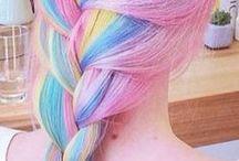 Pastel Hair / Rainbow hair