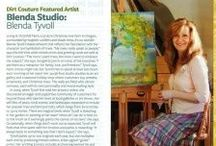 My BHG Magazine Feature / Sharing with you behind the scenes photos of my recent feature in BHG Country Gardens Magazine Summer 2012