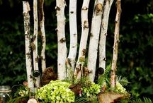 50th Anniversary / Event ideas for the 50th anniversary party. Garden party, woodland, nature, rustic
