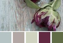 Crafty-Just Add Color! / Come of my favorite color combinations...great for craft projects, home décor, family pictures and more!