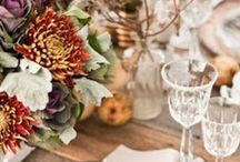 Autumn wedding / Fall wedding ideas