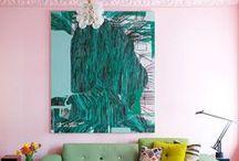 Decor - Pink walls / The colour