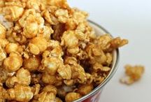 Popcorn Recipes / Fun and delicious popcorn recipes using gourmet food items from Cost Plus World Market.