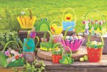 Easter Traditions / A happy hunt for Easter décor and springtime accessories starts right here. Delight in discovering a variety of Easter eggs, baskets, fillers, and treats with cheerful hues and charming details that make the Easter holiday special-and fun. Hop to it!