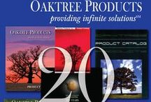 Catalog Covers Throughout the Years / Catalog Covers for Oaktree Products from the start of our company in 1992