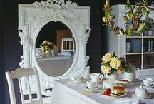 Powder Blue - Dining / Dining Room Images showing our Styling Props Locations