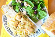 Pasta Dishes / Yummy #pasta dishes I love!