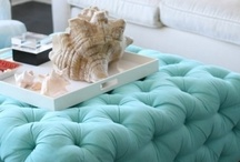 Colorways-Aqua / Nothing like a hit of aqua to rev up a dull room.