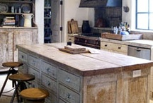 The Natural Kitchen / Ideas for natural looking decor AND things that make a kitchen more healthy and eco-friendly.