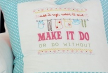 Crafts:  Embroidery / by Kimberly