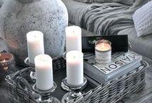 Pillar Candles / #PillarCandles #HomeDecor #WeddingIdeas