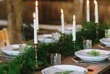Holiday Home Decor / #Winter #Holidays #Christmas #Xmas