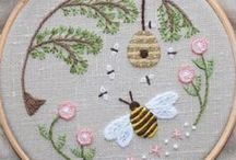 Embroidery and other needlework / by Candace Robinson