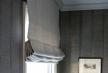 DRAPES | upholstery details / Trims, grosgrain ribbon, and other details