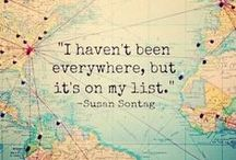 Travel quotes / The world is a book and those who do not travel only read one page
