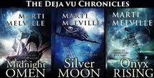 The Deja vu Chronicles / The paranormal historical romance novel series written by author, Marti Melville.  Celtic teens are kidnapped by 18th Century marauders and discover their future destiny depends on haunting events lived as Caribbean pirates.