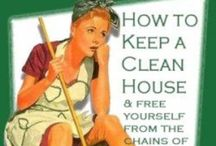 Homemade cleaning items / by Lisa Riggs