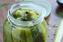 ✂Preserves and Pickles / Canning and other ways to preserve the harvest.