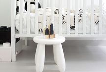Baℬy dwelling / I gravitate towards simple. Even in a child's room. the effects of colors, smells, sounds, on the mind. I like a calm natural state for children to be placed in, at least until they can describe what it is they like.