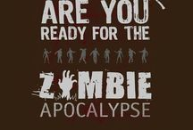 PREPARING FOR THE ZOMBIE APOCALYPSE / THEY'RE COMING! BE PREPARED ;) / by Hęłłå G