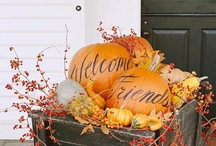 Autumn Joy / Autumn...a season of change reflecting the beauty of the greatest Artist, God the Creator...a time to give thanks for the many blessings He has given us! / by Kathy Malphrus