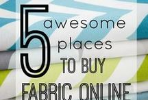 SEWING / Fabric Crafts / by Julieanna Nalett