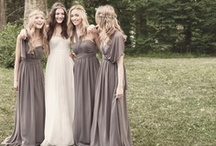 Beautiful Boho Chic Bridesmaid Style / Simple, elegant, classy! / by Shanna L
