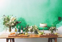 Green ( decor ) / Favorite color. Love all colors, however green gives me some of my best inspirations, energies, feelings. Yes, . I adore green.