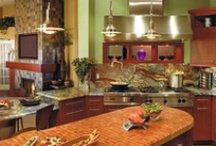kitchen decor / Design/colour/furniture for my dream kitchen / by Sarah Lingamfelter