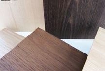 New Premium Wood Doors / Minimal is introducing new wood doors with veneers thick enough (4 millimeters = 0.15 inches) to be used as countertops, making the cabinets as strong as solid wood whilst still maintaining a light weight and eliminating any chance of warping. The new veneers, significantly stronger than those used by competition, come in a multitude of different woods and can be custom finished to match the customers' preferences.