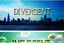 Divergent  / Finished reading the divergent series and now I'm obsessed!!  / by Kiersten Okelberry