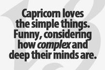 careful capricorn / by Kristine Marie