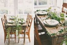 TABLETOP. / Wedding & Event Table Tops / by Christina Block Photography