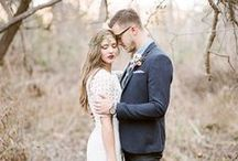 THEM / Bride & Groom / by Christina Block Photography