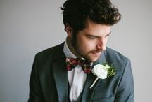 GROOM. / Grooms Style / by Christina Block Photography