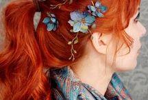 beauty  I  hair love / by Kristine Marie