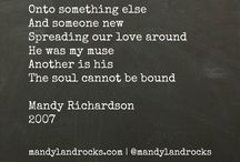 My Poetry / by Mandy Richardson